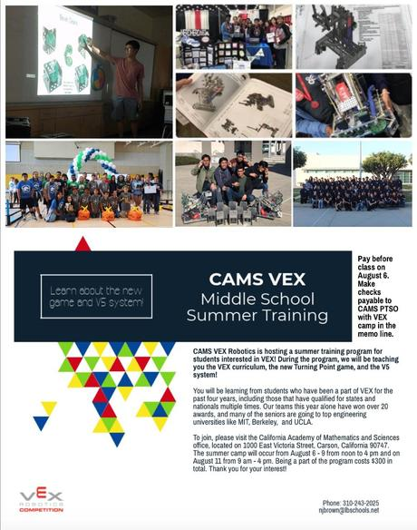 Summer Vex Training